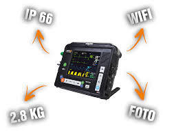 AED, Defibrillator monitor with advanced light weight